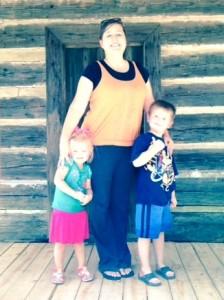 Lorie Keene & kids 2015